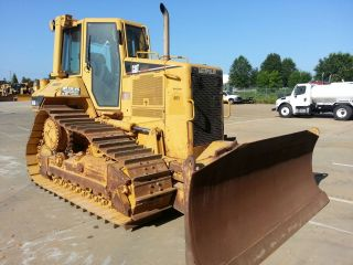 2005 Caterpillar D6nxl Crawler Tractor With Cab A/c 6 Way Blade photo