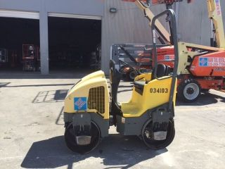 Wacker Rd12a Vibratory Dual Drum 1.  5 Ton Honda Engine photo