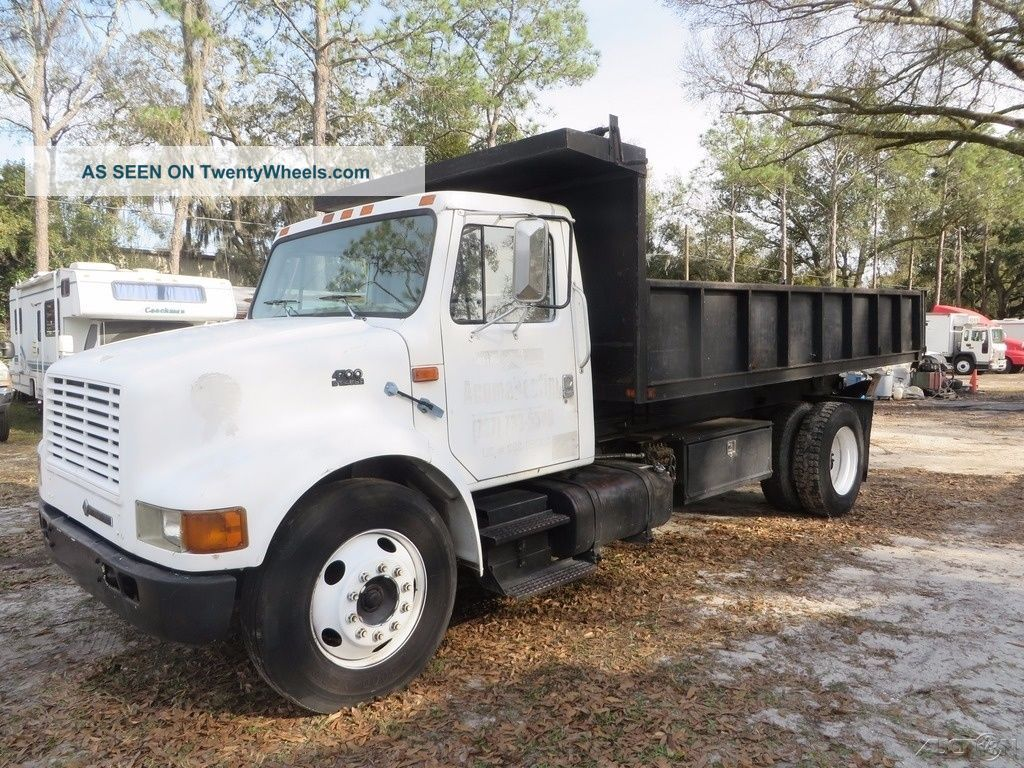 1999 international 4700 scissor dump truck for Troy motor mall gmc
