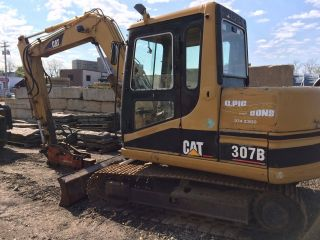 1999 Catapillar 307b Excavator Sn 6k200257 photo