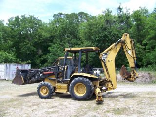 Caterpillar 416c Backhoe 4x4 4in1 Bucket Qcplr Wain Roy Xls Xtend A Hoe photo