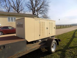 Generac 25 Kw Diesel,  Trailer Mount photo