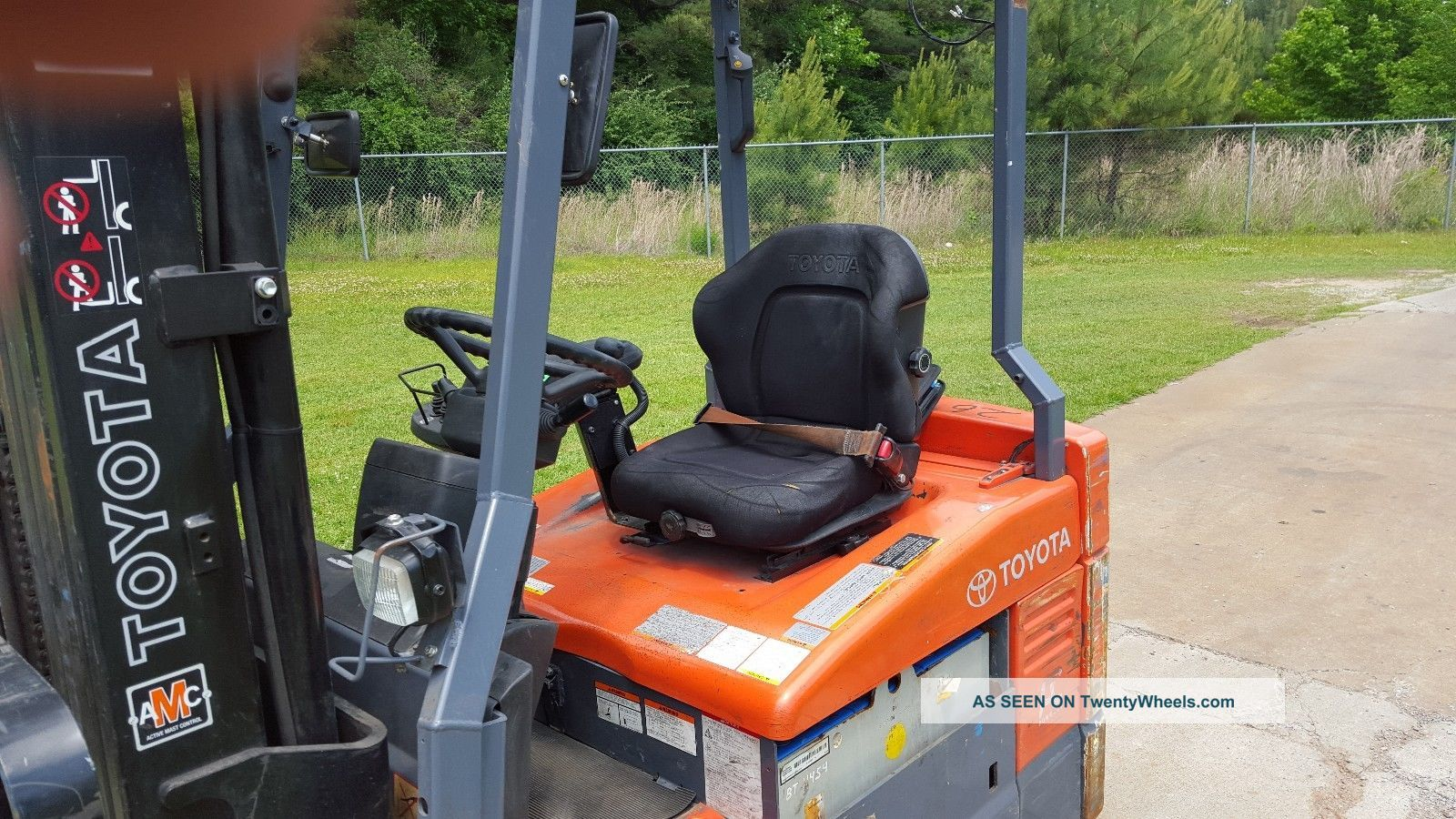 Toyota Forklift Shift Lever Switch : Toyota fbeu forklift w quot quad mast side shift