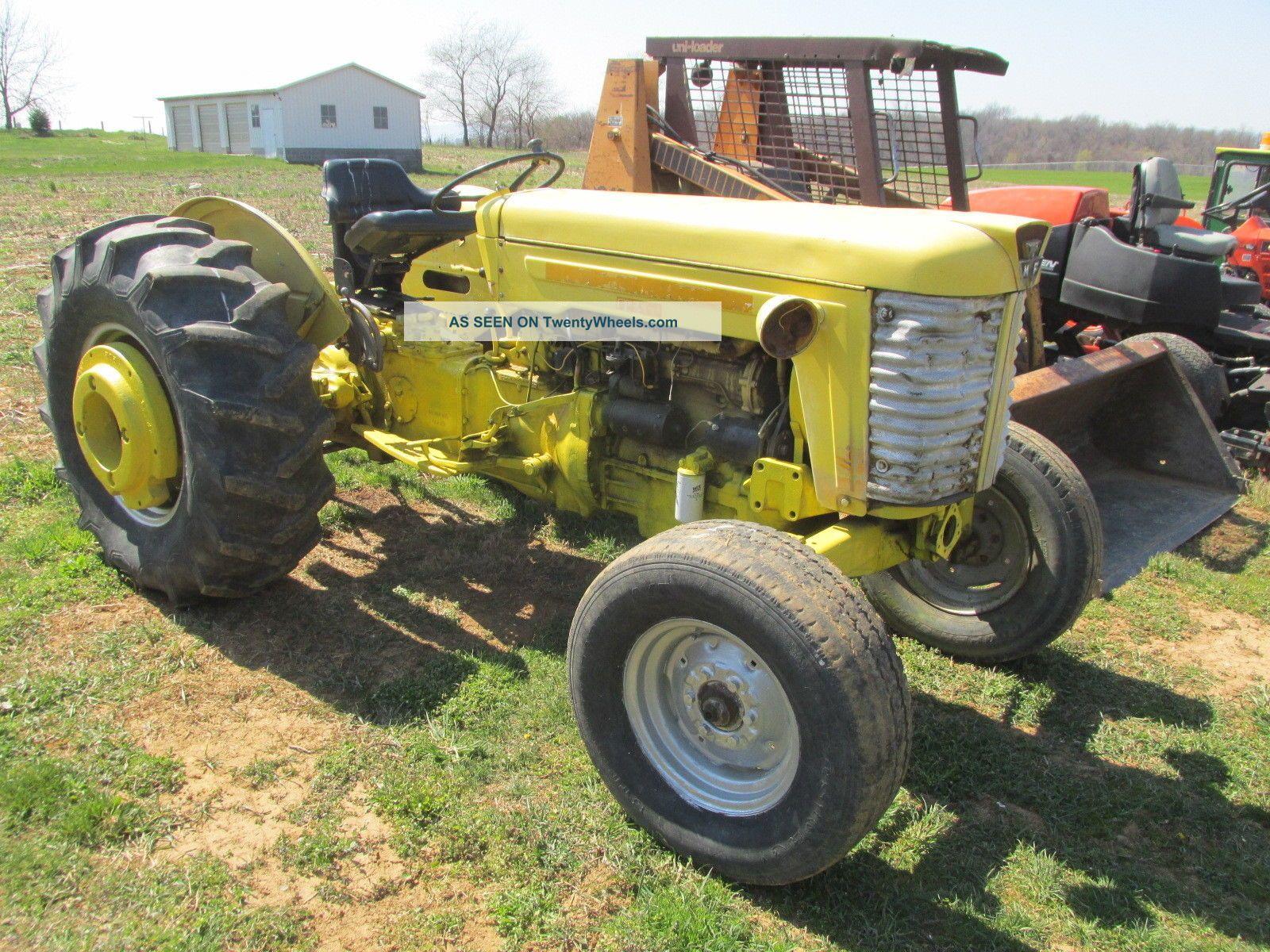 Massey Ferguson Diesel Tractor Runs Good Lgw