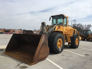 2007 Volvo L180e Wheel Loader  Backhoe,  Snow,  Cat,  Case,  John Deere photo