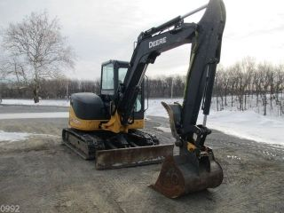 2011 John Deere 60d Hydraulic Excavator,  Full Cab,  Air,  Heat,  1882 Hours photo