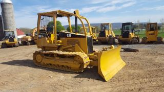 1998 Caterpillar D5c Xl Hystat Joystick Bull Dozer Crawler Tractor Diesel Engine photo
