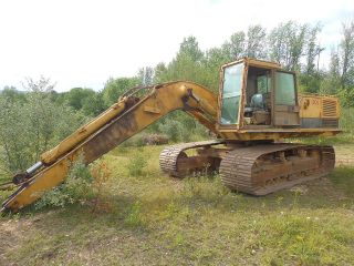 Caterpillar 235 Hydraulic Excavator Runs Exc Video Good U/c 3306 Di Cat photo