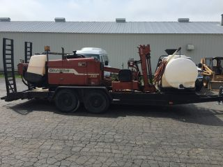 2000 Ditch Witch Directional Drill.  Trailer,  Mixer,  Electronics,  And Tooling photo