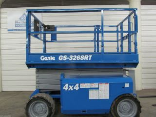 2006 Genie Gs 3268rt Scissor Lift,  32 ' Platform,  Boom,  Jlg,  Skyjack,  Aerial photo