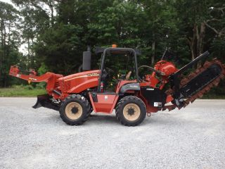 2008 Ditch Witch Rt115 Trencher / Cable Plow / Reel Carrier,  Tires photo