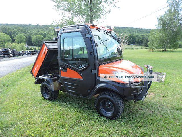 2012 Kubota Rtv1100 Utv Utility Vehicle 4x4 Diesel Side By