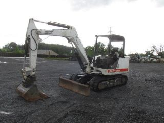 1998 Bobcat 337 Mini Excavator W/ Only 1500hrs photo