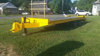 Heavy Duty Equipment Trailer photo