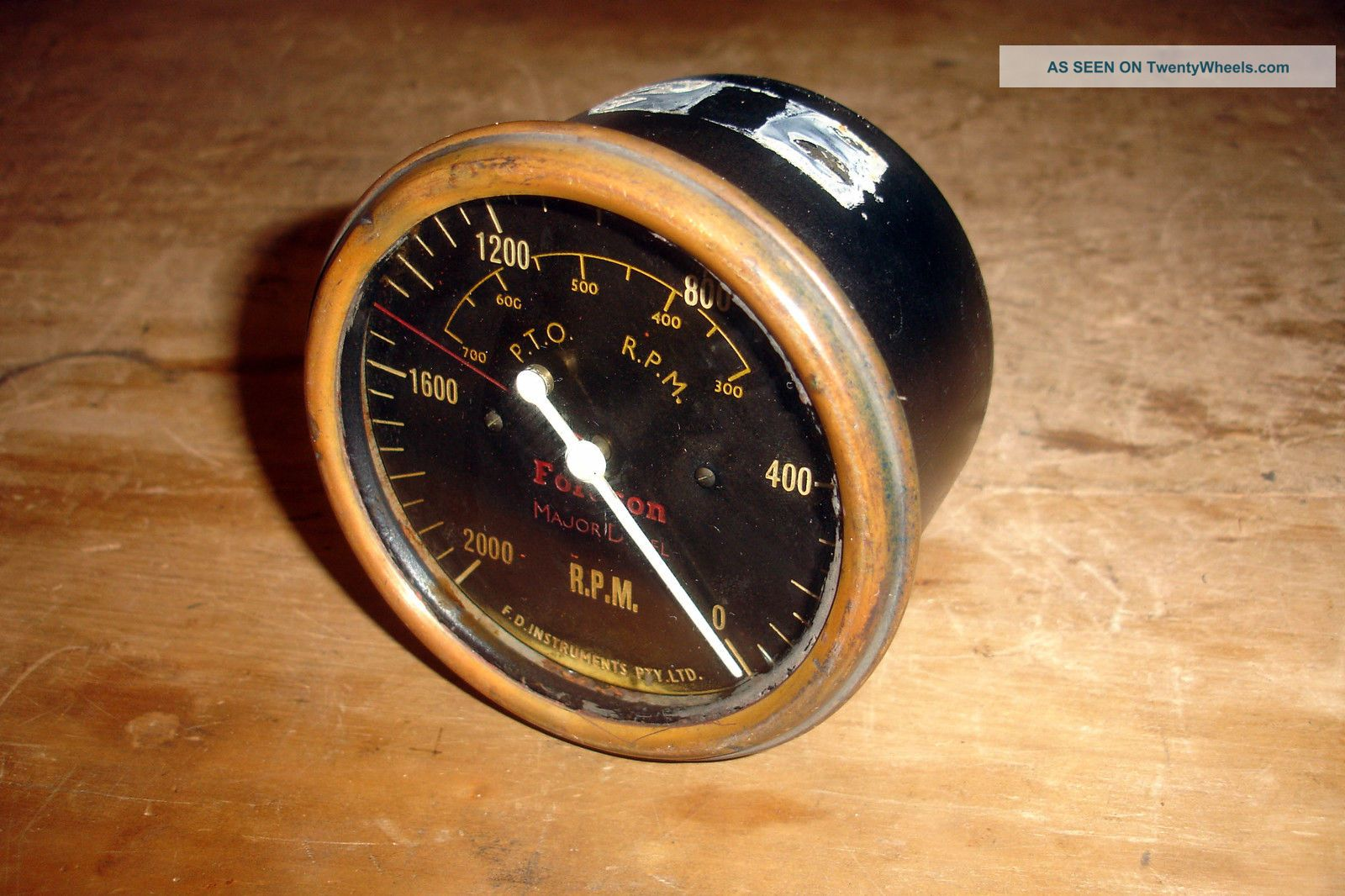 Fordson E27n P6 Perkins Diesel Major Tractor Tacho Tachometer County Crawler Uncategorized photo