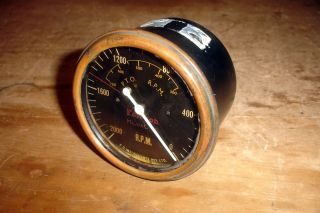 Fordson E27n P6 Perkins Diesel Major Tractor Tacho Tachometer County Crawler photo