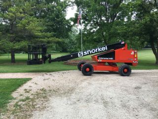 Snorkelift 48 ' Boom Lift 4x4 Price Drop photo