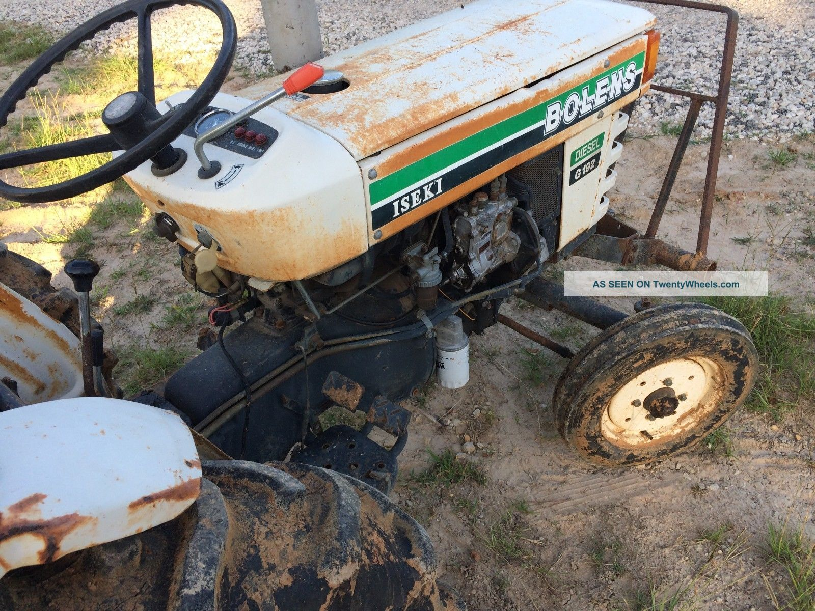 Iseki Tractor Tire Rims : Bolens iseki g tractor