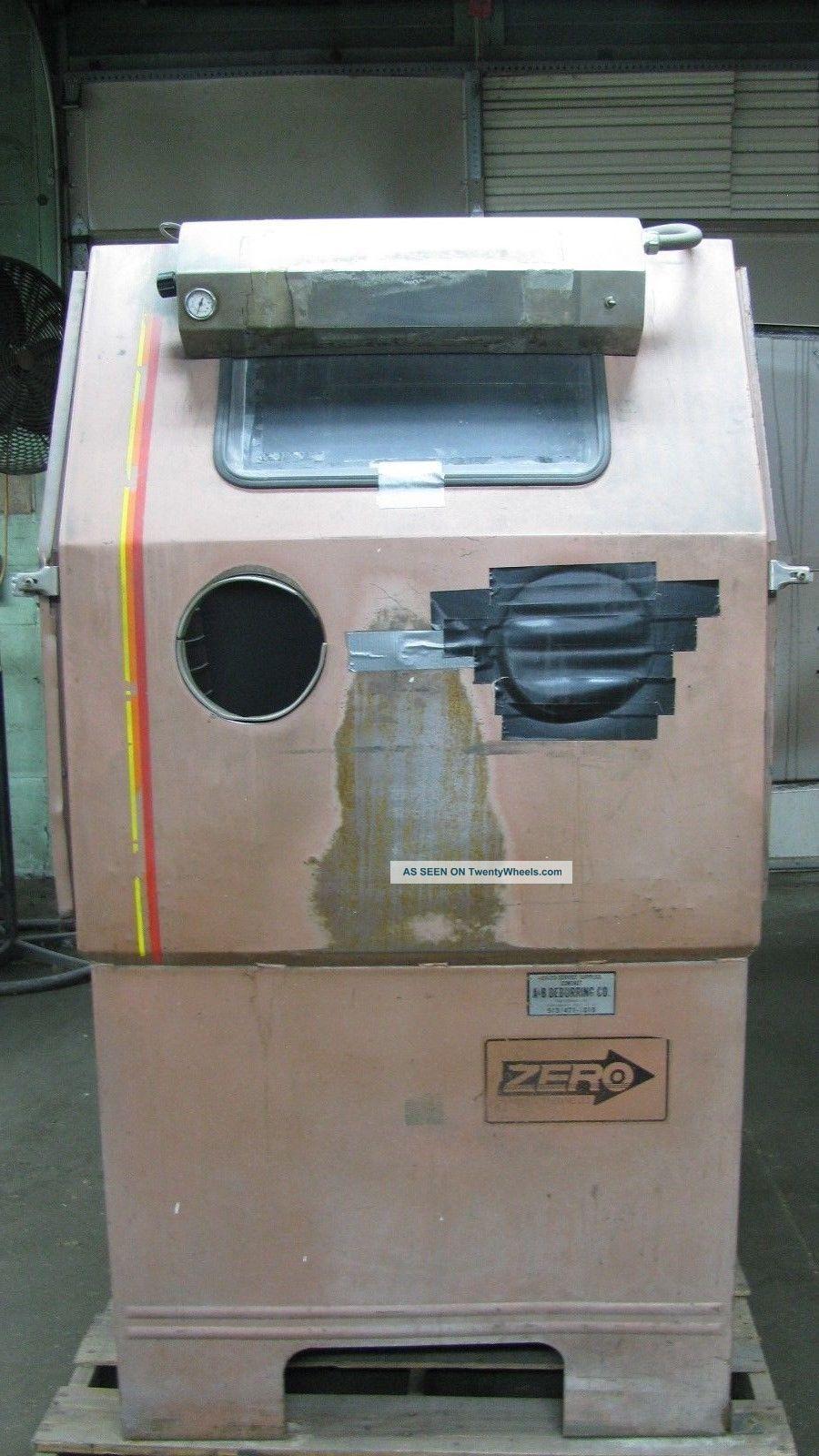 Zero Bp 65 - 20 Blast Cabinet Finishing Machines photo