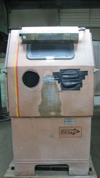 Zero Bp 65 - 20 Blast Cabinet photo