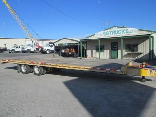 2005 Winston 20 Ton Tag Trailer,  Tandem Axle photo