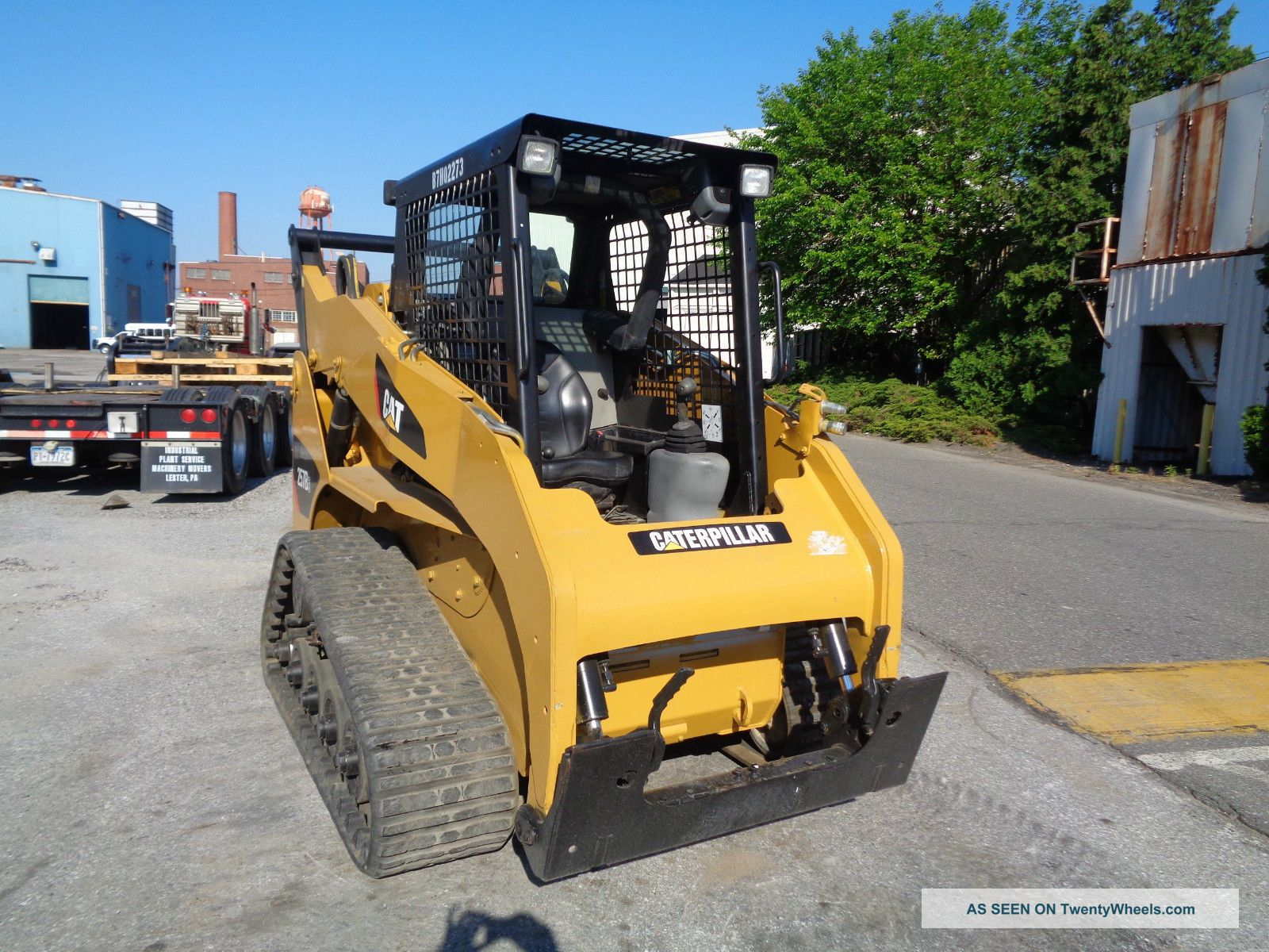 Cat Skid Steer Axle : Cat b track skid steer loader aux hydraulics