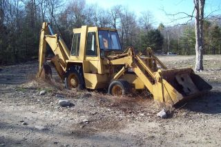 Dynahoe Backhoe D 190 D50452e With Clamshell Front Bucket photo