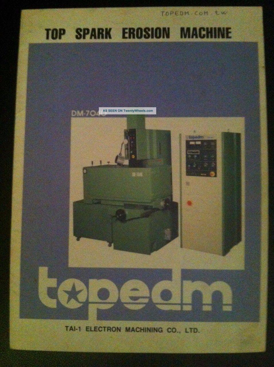 Top Spark Erosion Machine Edm Topedm Dm 6030 EDM Machines photo