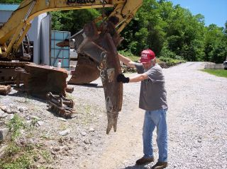 Ripper & Quick Attach Heavy Duty Demolition Frost Root Stump Concrete Blacktop photo