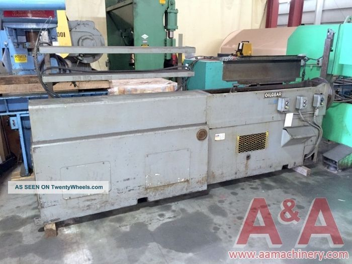 Oilgear 6 - Ton Horizontal Broach 16510 Drilling & Tapping Machines photo