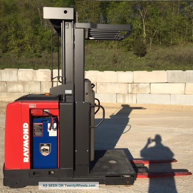 2010 Raymond 520opc30tt Stand Up Forklift Lift Truck