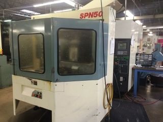 Niigata Spn50 4 - Axis Horizontal Machining Cell photo