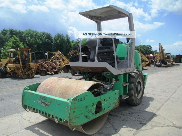 2005 Hamm 3205 Smooth Double Drum Roller Compactor,  Only 1527 Hrs Compactors & Rollers - Riding photo