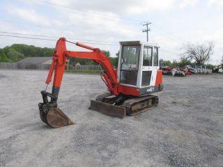 Kubota Kh61 Mini Excavator W/cab photo