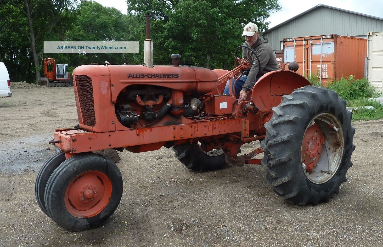 Allis Chalmers Wd45 : Allis chalmers wd