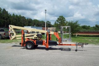 Jlg T350 Towable Boom Lift,  41 ' Work Height, ,  We Deliver $1.  00 Mile photo