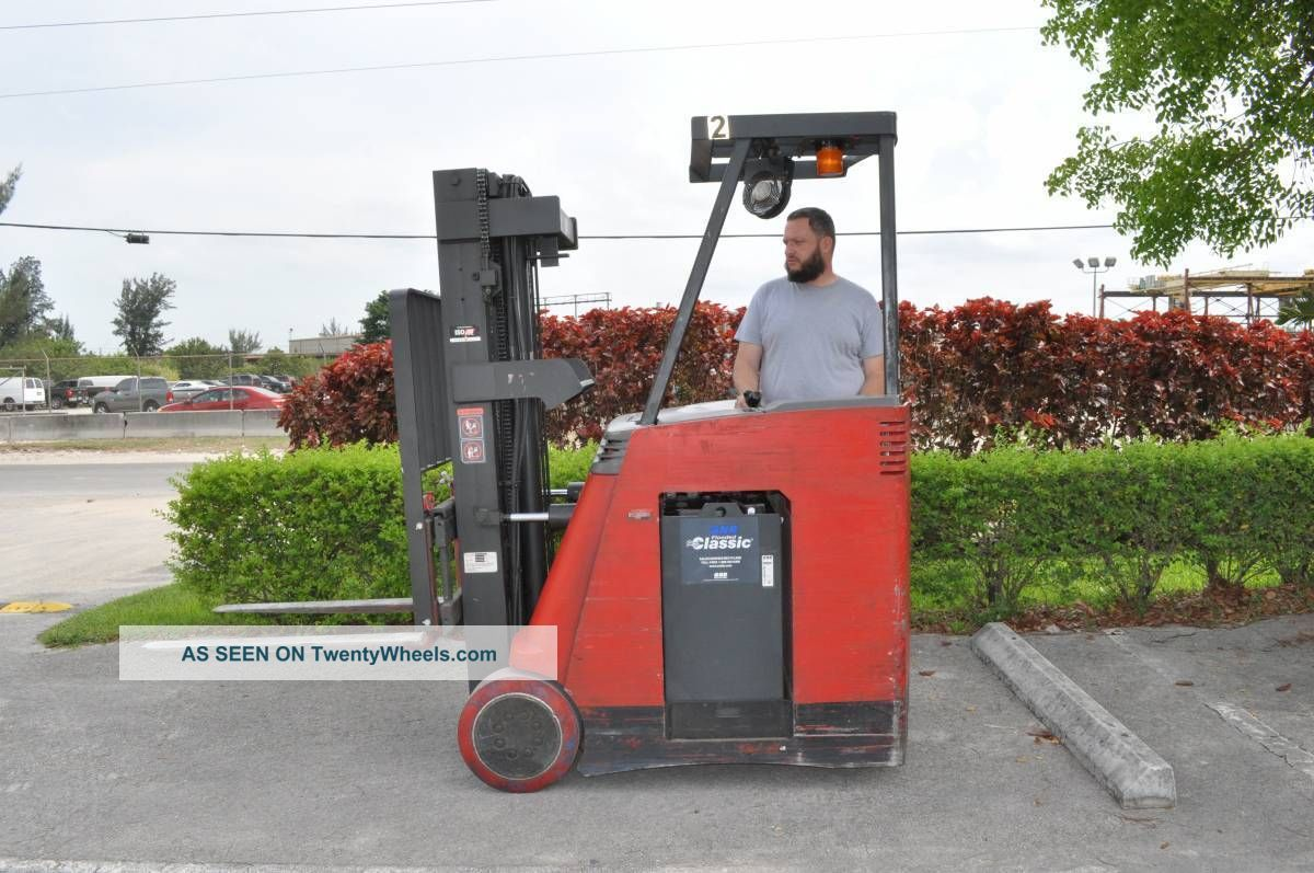 2006 Raymond Forklift Dss 300 Counterbalanced Electric 2006