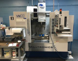 Milltronics Vm20il Linear Roller Way Vertical Machining Center (2013) photo