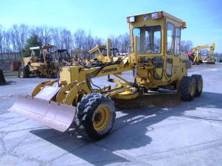 Champion C50a Motor Grader,  Cab,  Scarifier,  Cummins Diesel,  1595 Hours photo