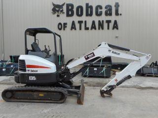 2015 Bobcat E35i Long Arm Excavator Full photo