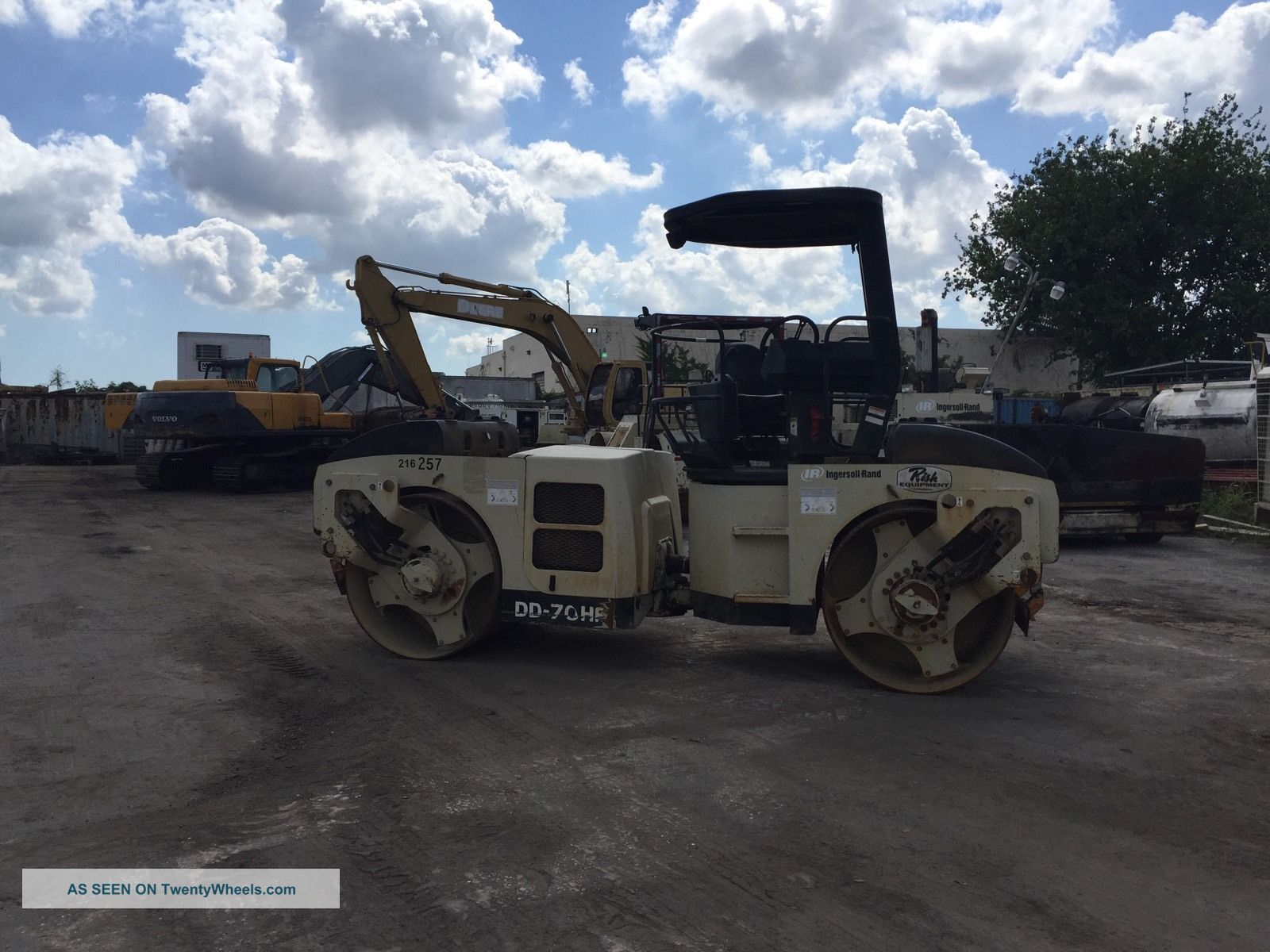 2004 Ingersoll - Rand Dd70 - Hf Compactors & Rollers - Riding photo