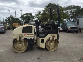 2004 Ingersoll - Rand Dd - 24 Double Drum Roller photo