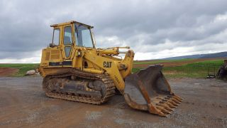 1998 Caterpillar 963b Lgp Track Loader Diesel Engine Construction Hydraulic Cab photo
