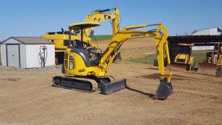 2007 Komatsu Pc27mr - 2 Mini Compact Hydraulic Excavator Tracked Hoe Plumbed Blade photo