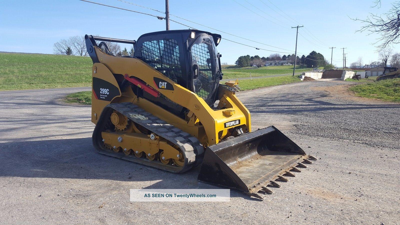 Track Skid Steer Loader : Caterpillar c compact track skid loader diesel