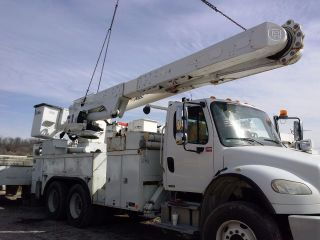 ' 07 Boom Lift Altec Am55e 55 ' Overcenter For Utility Bucket Truck photo