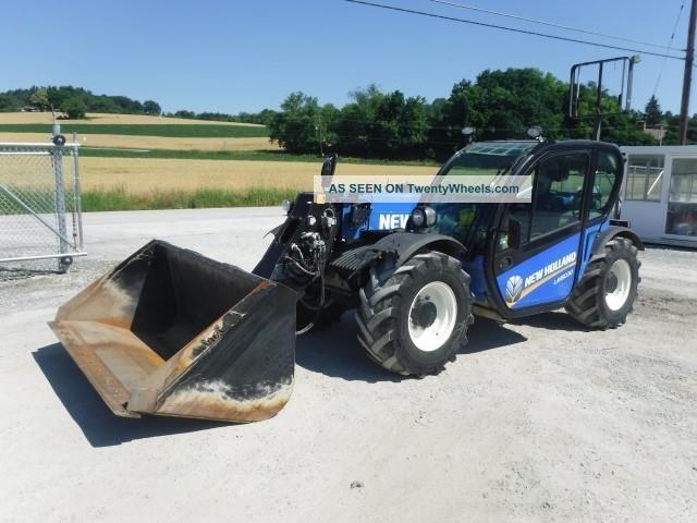 Telescopic Forklift Controls : Holland lm telehandler ag forklift manlift