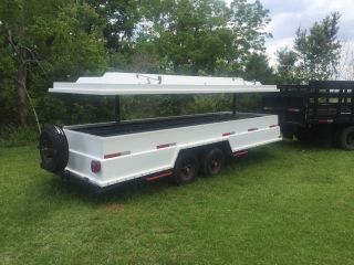 Is A Low Profile Heavy Duty Speail Custom Made Equipment Cargo Trailer photo