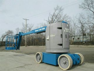 Genie Z30/20n Articulating Aerial / Boom Lift,  Low Hrs,  Batteries/ship photo