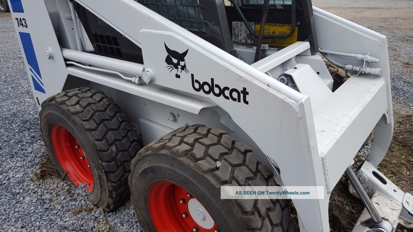 Bobcat Skid Steer Paint : Bobcat skidsteer erop heat tires paint